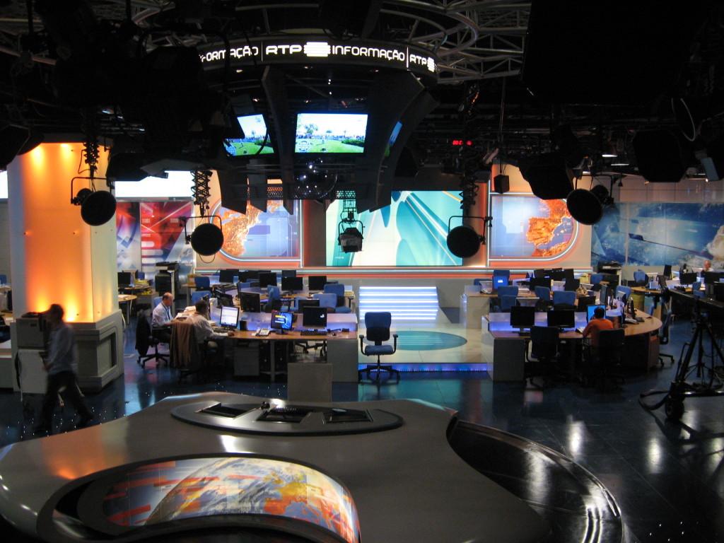 RTP television studios