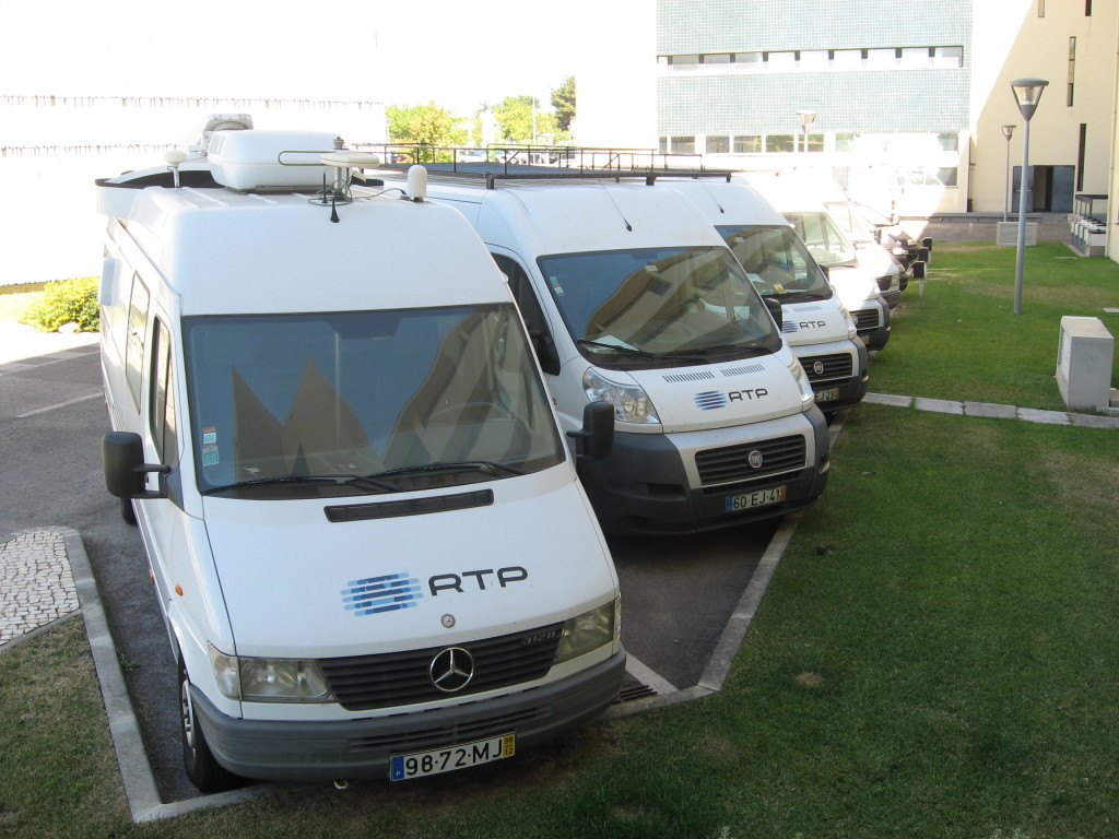 RTP vans ready for use