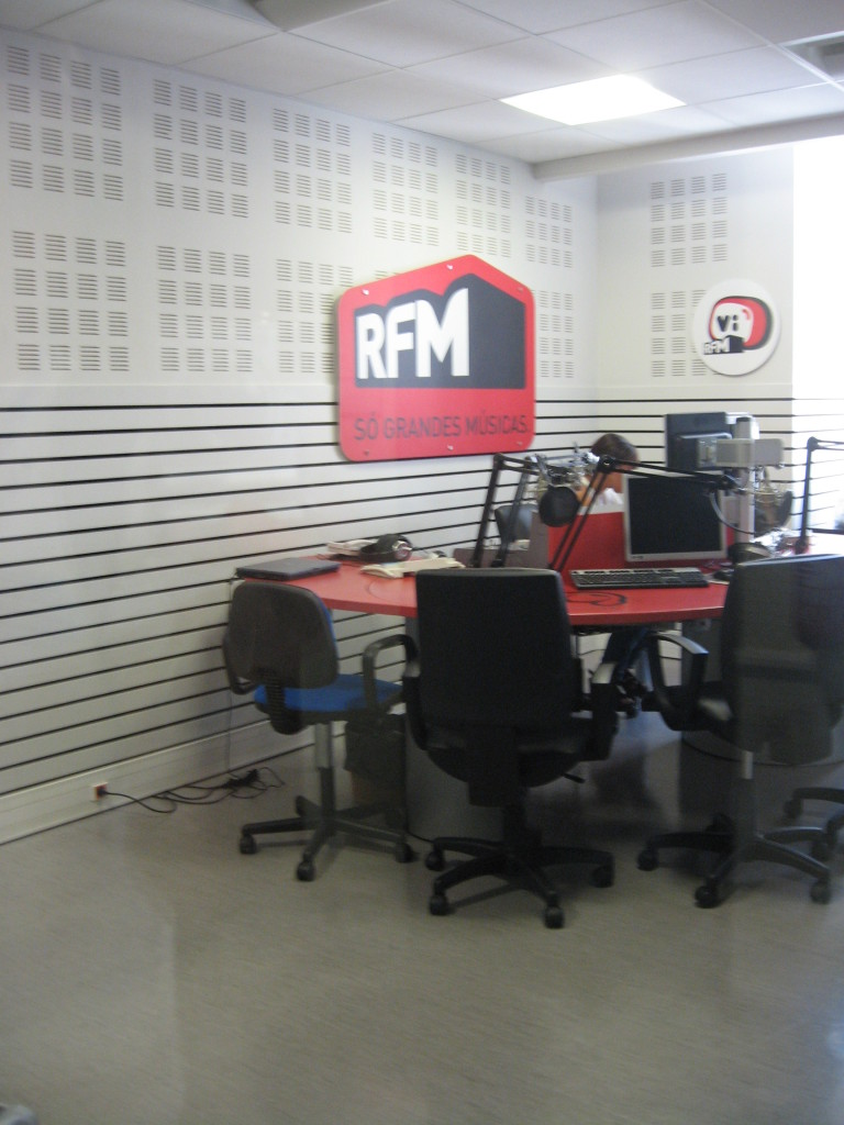 RFM studio (Radio Renascenca rock channel)