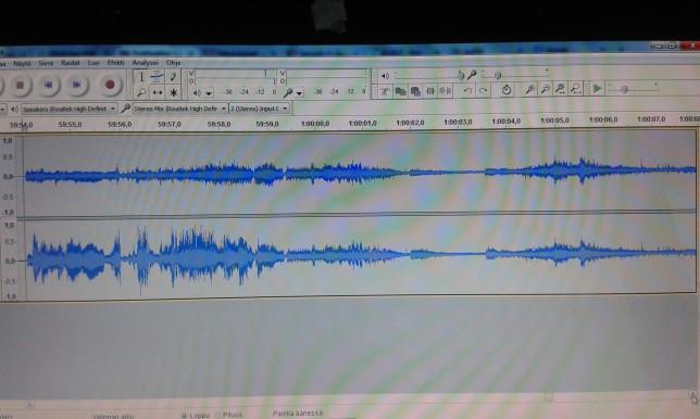 Love Radion lähettimen toinen stereokanava oli oudon vaimea taajuudella 90.2 MHz