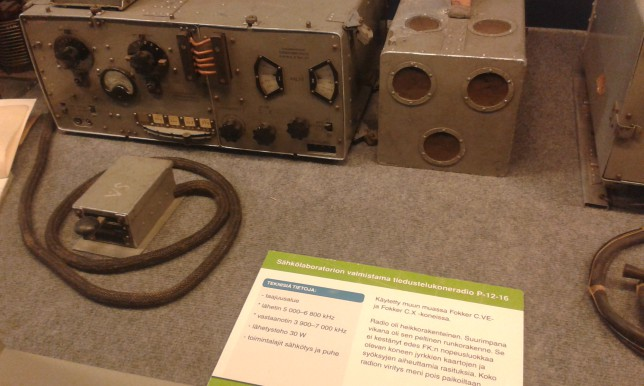 Transceiver used in Fokker planes
