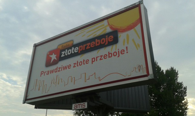 Radio Złote Przeboje advertisement