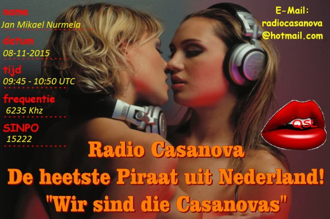 QSL Radio Casanova-2 Jan Mikael