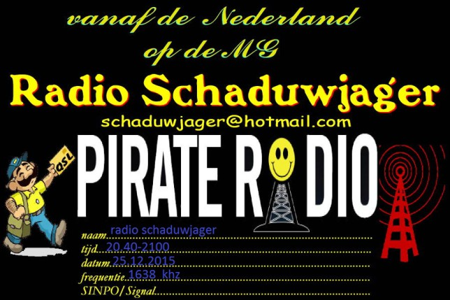 radio schaduwjager qsl