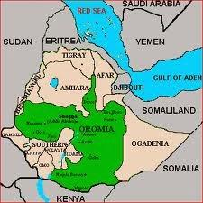 R. Oromiya map
