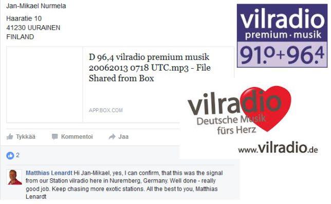 Vilradio QSL
